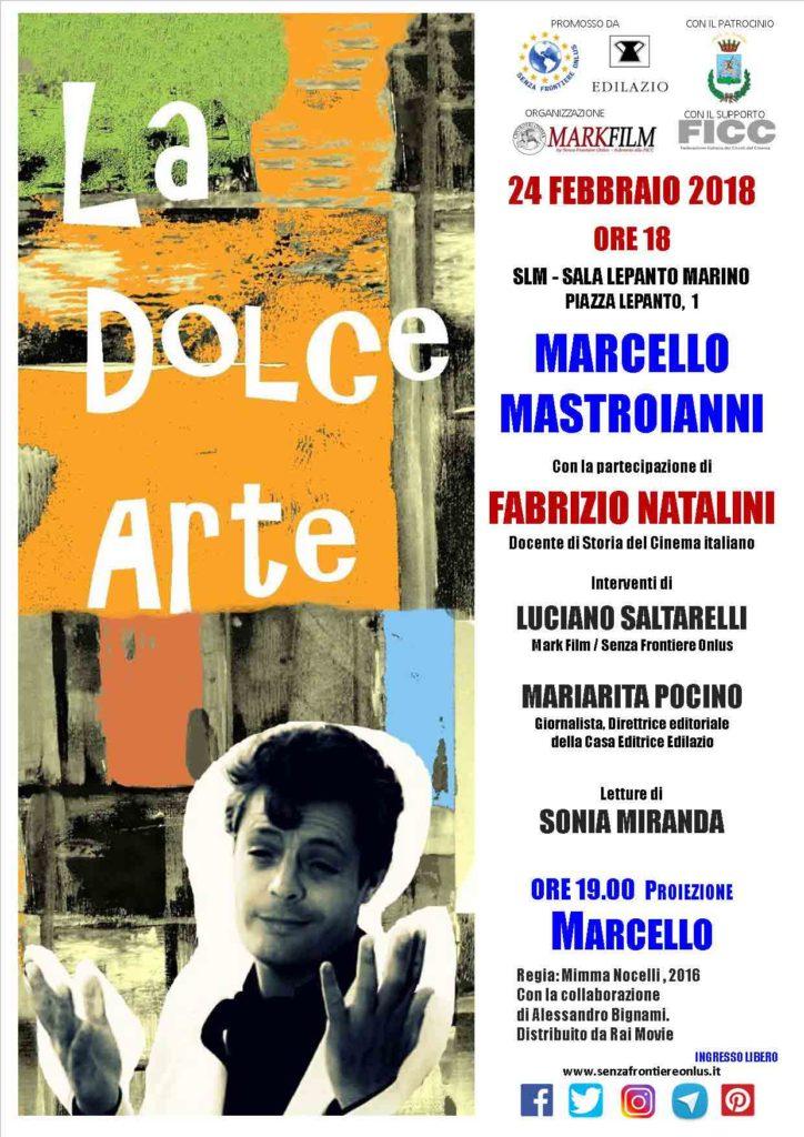 La Dolce Arte / Marcello Mastroianni @ SLM - SALA LEPANTO MARINO | Marino | Lazio | Italia