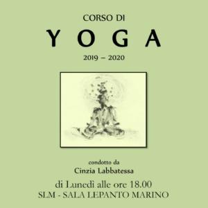 Corso di Yoga / condotto da Cinzia Labbatessa @ SLM - SALA LEPANTO MARINO | Marino | Lazio | Italia